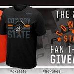 T-shirt Tuesday! RT for a chance to win this #okstate @Nike Fan Tee. #CowboyState https://t.co/gTkpB9u6JB