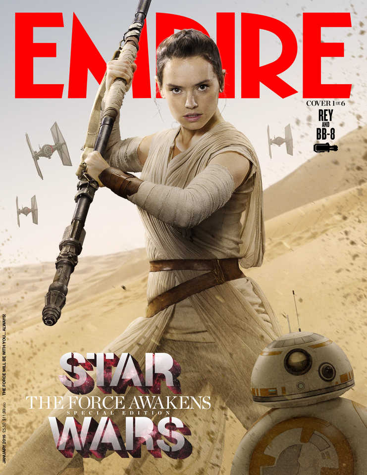 """. @empiremagazine's art director: """"Know what the problem with Star Wars is? That bloody logo. I can do better!"""" https://t.co/KIIgfd5wxx"""