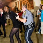 Donald Trump rallies get rough https://t.co/jIEE3hKFe2 | Photos: @smahaskey https://t.co/wgLMN3rBuH