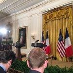 Awaiting Obama-Hollande presser in the East Room https://t.co/c8VeVg4Eha