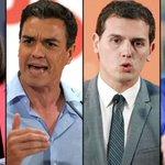 Sáenz de Santamaría, Sánchez, Rivera e Iglesias, protagonistas del #7DElDebateDecisivo ▶️ https://t.co/kTuiHUuMlD https://t.co/lY7TyAA90r