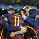 ¡El @FCBarcelona_es, clasificado para los octavos de final como primero de grupo de la ChampionsLeague! https://t.co/ne8WALU5Ul