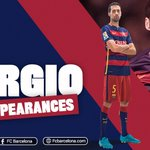 Sergio Busquets played his 350th game with @FCBarcelona tonight! https://t.co/hIWAMh8t8L | #MesQueUnClub https://t.co/lPaEWURDnn