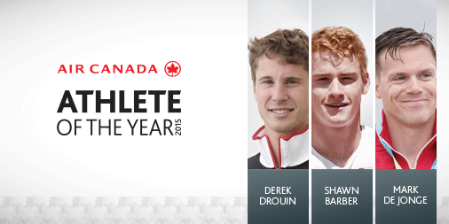 Vote for your favourite athlete in this year's AthleteOfTheYear award for a chance to win!