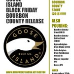 .@GooseIsland Bourbon County release on #BlackFriday! Info: https://t.co/2vieq5n4bm #craftbeer #boston #beer https://t.co/g0kKwhggp5