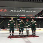 Looking good! #StadiumSeries #mnwild https://t.co/2ESG4wA0jN