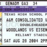 #FunFact Tigers played in the first ever HS game and currently 12-0 at Reliant/NRG Stadium https://t.co/tzg84KrHv1