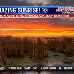 News 8 Picture of the Day: Check out this amazing sunrise over Braddock Bay several days ago. #WROCTV #ROC https://t.co/Iy5f1a256D