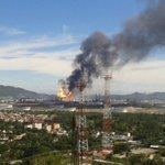 Con saldo de 3 lesionados, el incendio en refinería en Salina Cruz, fue controlado. #InfomovilNews #México https://t.co/ZrbaUmkFiR