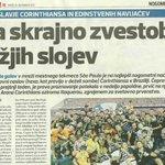 Mesmo quem não domina o idioma esloveno consegue entender a matéria: #6x1doHexa #HexaNaFavela https://t.co/eowWaXyU4y
