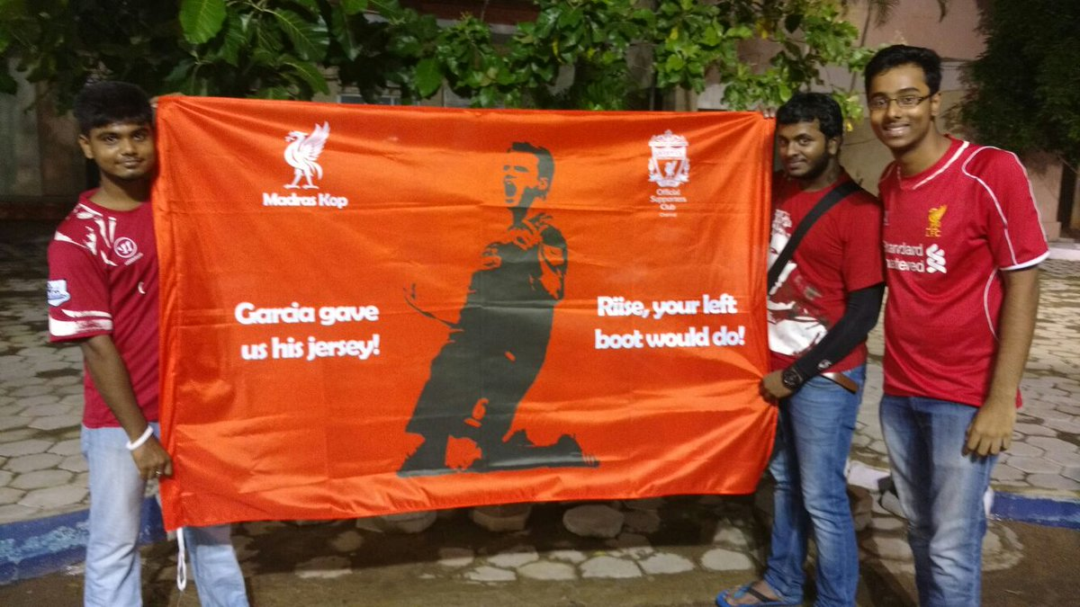 Hey @LuchoGarcia14 we did this for  @JARiiseOfficial this time. @lfcchennai https://t.co/iukpKSbFkm