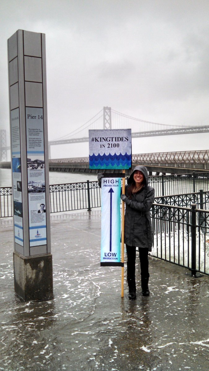Feeling the future of sea level rise at #KingTides this morning in San Francisco. https://t.co/513aVQM0kd https://t.co/1XcHAkdRgT