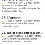 RT VictoryForNamo: In the meanwhile some reviews at Apple Store about snapdeal application of iOS https://t.co/0X08ftofaE