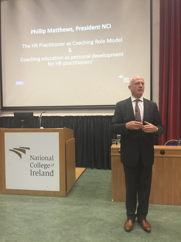 Fostering resilience in people should be a key function of HR, says NCI President @philmattie #futureofHR https://t.co/Rx3FhCRPvE