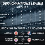 Will Arsenal keep their #UCL dreams alive? Who will come out on top when Bayern Munich host Olympiacos? #SSFootball https://t.co/j5wRLZGhkJ