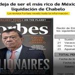 Chabelo sustituye a Slim como el más rico de México tras liquidación. https://t.co/4FTa0Xfij1 @galvanochoa https://t.co/plAoKdajnc