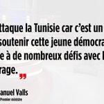 .@manuelvalls réagit à lattentat qui a frappé la Tunisie en fin daprès-midi. #LPJ #Tunis https://t.co/M97AtmLHnx