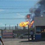 Explosión en La Refinería de Salina Cruz, Oaxaca. https://t.co/C30CvbWdvS