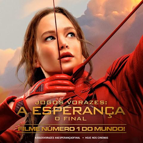 O FILME NÚMERO 1 NO MUNDO TODO! <3 #AEsperancaOFinal https://t.co/03YcL2KeOO