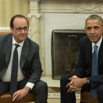 .@POTUS after meeting @fhollande: We are all French now https://t.co/5qk2WXy6dT via @StCollinson & @Kevinliptakcnn https://t.co/sFcI9wzYOI