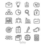 ⬇ Free download: Gray business icons on white background https://t.co/0FN79tUbsG https://t.co/FBer7neelx