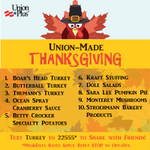 Make familys #Thanksgiving holiday meal #union-made with shopping list from @UnionPlus. #MadeInAmerica @AFLCIO https://t.co/Cy6v6L9P58