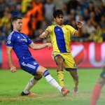Half-time: Maccabi Tel Aviv 0-1 @ChelseaFC. #CFCLive #ChampionsLeague https://t.co/ms1v5UHTrg
