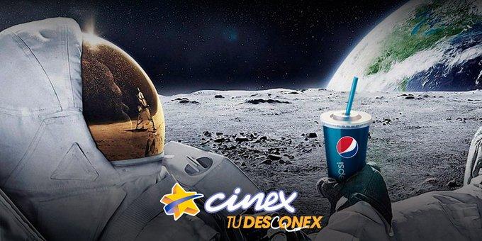 Si estás más solo que  astronauta en la luna, te tenemos una perfecta compañía: Cinex y su cartelera ¡visítanos! https://t.co/EzUWAyBNoH