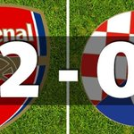 Half time and @Arsenal in full control at the Emirates Stadium #UEFAChampionsLeague @ANN7tv https://t.co/VaV4941U9i