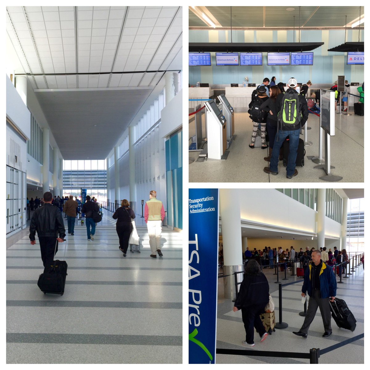 RT @CHS_Airport: It's busy but going smoothly so far. CHStraveltips: Arrive early for stress-free travel. https://�