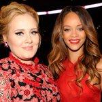 """Adele says she cant wait for @Rihannas #ANTI: """"Im the biggest RiRi fan. I love her"""" https://t.co/850G89RSei https://t.co/8tT9lVx4ae"""