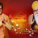 T 2069 -On the auspicious occasion of Guru Nanak Dev jis birth anniversary .. greetings to all .. peace and love !! https://t.co/XGeAJ2Repo