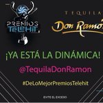 ¡Sólo haz la dinámica y @TequilaDonRamon te lleva a los Premios Telehit! https://t.co/897Uy3MpIw
