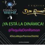 ¡Checa la dinámica para ir a premios TELEHIT en este momento con @TequilaDonRamon ! https://t.co/bmkZS4bpKS