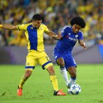 60 minutes played at the Sammy Ofer Stadium and Chelsea still lead 1-0. #CFCLive #ChampionsLeague https://t.co/z6Dc03f3RH