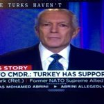 """Fmr General Wesley Clark : #Turkey has supported #ISIS. """"Who is buying their oil""""? """"Who is allowing fighters?"""" . https://t.co/UX0YICxoh3"""