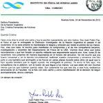 Nota que me envía Juan Pablo Paz, Físico de Conicet que recibió distinción de la Nación Argentina. https://t.co/mXEFmOz7wL