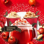 12/1(火)から、りんごのまろやかな甘さとティーの相性を楽しめる『ホットアップル』が新登場。My Starbucks会員の皆さまには、新商品やプレゼントなど、詳細な情報も。 https://t.co/freHIrWes4 https://t.co/vYyBdE7YjU