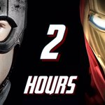 TWO HOURS LEFT until JIMMY KIMMEL airs! #CivilWar https://t.co/F1L9bGg69g
