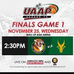 Official Hashtags for today: #BeBrave16 #McDoBonFriesFEU For the love of God and Fatherland! Go FEU! FEUso! ???????????????? https://t.co/3pp6RFAGAQ