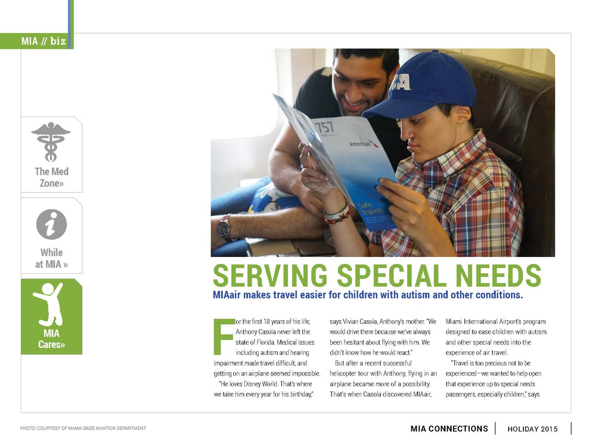 Discover MIAair: helping ease airline travel for families &kids w/ special needs