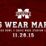 You already know what to wear Saturday... #HailState https://t.co/6A966F2yYM