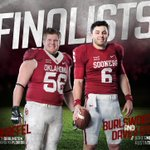 Baker Mayfield & Ty Darlington named finalists for national college football awards! ➡️ https://t.co/J8Kjo6RHI7 https://t.co/TafdkSIidQ