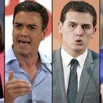 Sáenz de Santamaría, Sánchez, Rivera e Iglesias, protagonistas del #7DElDebateDecisivo https://t.co/25v78AOEac https://t.co/tPAaJK8Z1Z