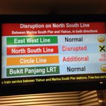 Train service on North-South Line suspended due to power fault @SMRT_Singapore https://t.co/UD1DOqmnUO https://t.co/bAcJRzTeSy