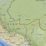 AHORA | USGS eleva a 7.5 la magnitud del sismo registrado en el sureste de Perú, en la frontera con Brasil. https://t.co/NSz3JZr9eJ