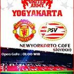 Kamis 26/11/2015   02.30   live screening   MU vs PSV   @NYKCafe ( jl.nologaten )   10k   085647162002 @jogjasatucom https://t.co/HterRbob8G