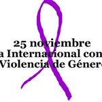 25N Día internacional contra la #ViolenciaDeGenero #noalaViolenciaDeGenero #tratadepersonas #NiUnaMenos https://t.co/EHvX1hkXpf
