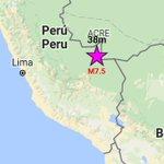 Un sismo 7.5 sacudio Brasil, Peru y Chile https://t.co/e23ZrGZx4N https://t.co/lXBgG1myAT