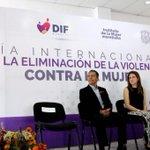 Iniciamos las actividades de conmemoración del Día de la #EliminaciondelaViolenciaContraLaMujer. #Morelia https://t.co/lTU0Q8BqQD